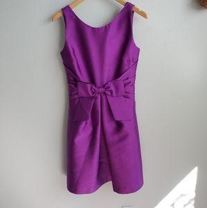 Kate Spade purple silk dress 2